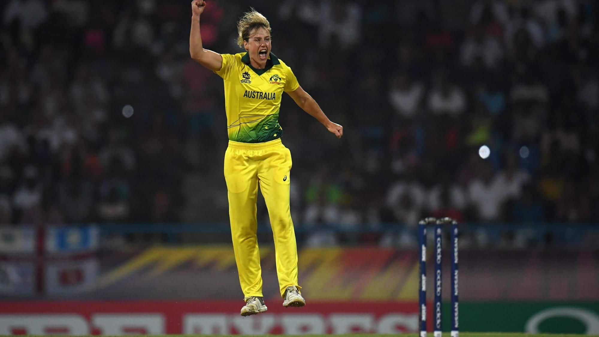 Women's World T20: Ellyse Perry second to 100 T20I wickets as Australia storm to fourth title