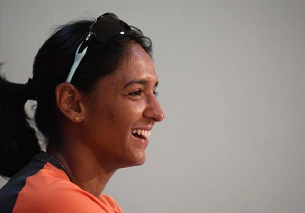 India's women's team captain Harmanpreet Kaur. @ Getty Images
