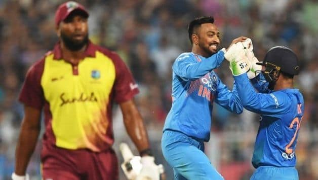 India vs West Indies: Krunal Pandya wanted to get Kieron Pollard out, says Rohit Sharma