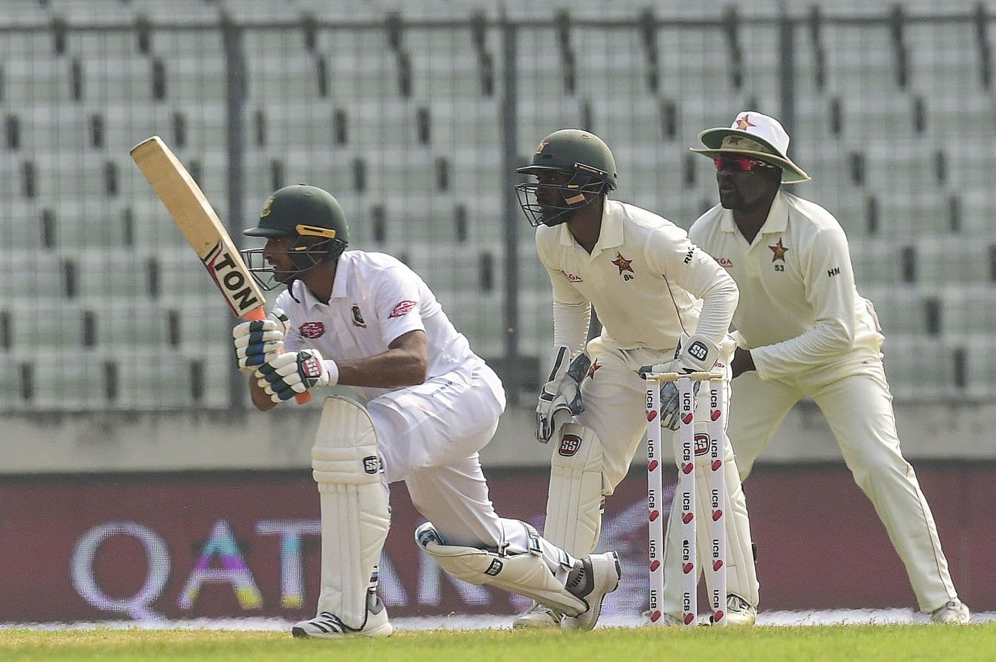 Bangladesh vs Zimbabwe: Set 443, visitors end day four on 76/2 after Mahmudullah hundred