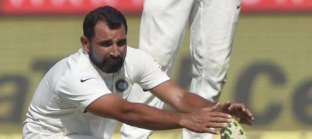 India and Bengal pacer Mohammed Shami. @ AFP