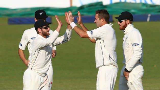 VIDEO: New Zealand players do Bhangra dance after 4 runs win against Pakistan in Abu Dhabi Test