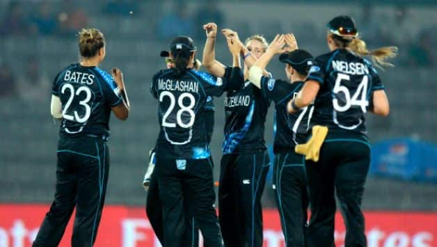 Women's World T20: Leigh Kasperek becomes fastest to 50 T20I wickets