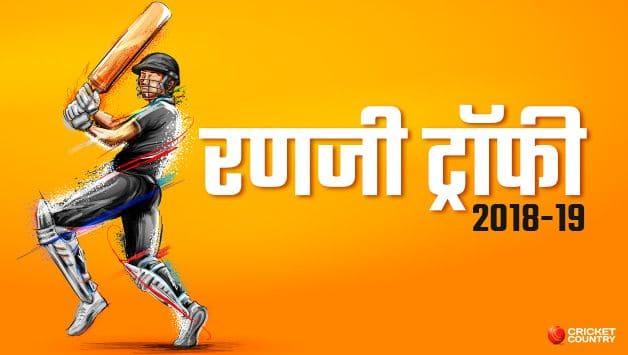 Ranji Trophy 2018-19, Group C, Roundup, day-4