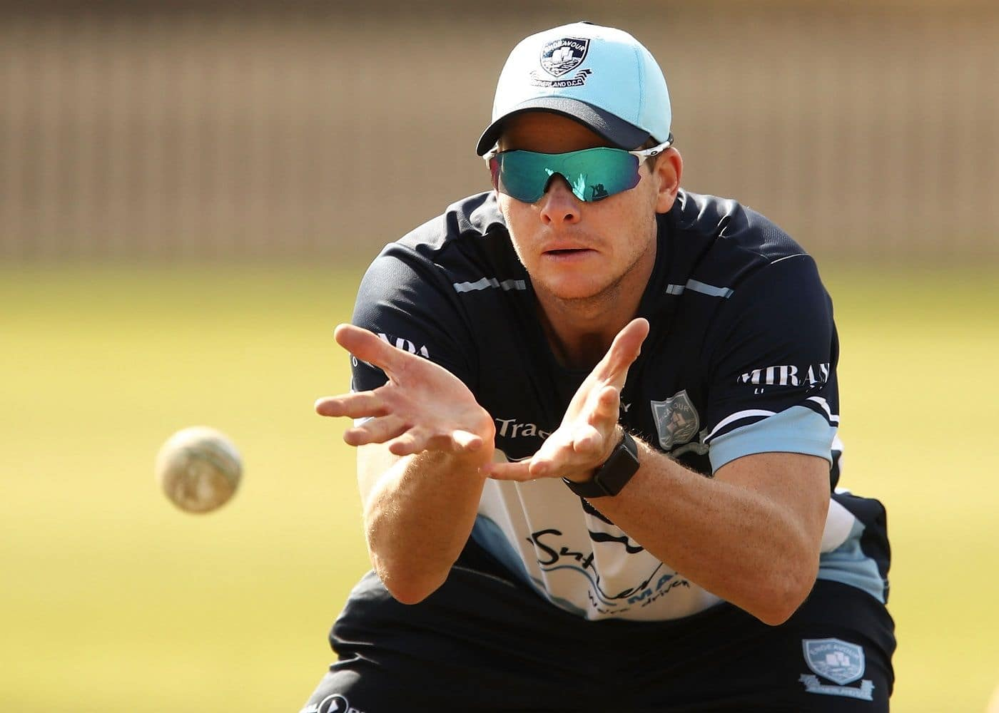 Steve Smith bats against Ashes pace trio at SCG nets ahead of India Tests