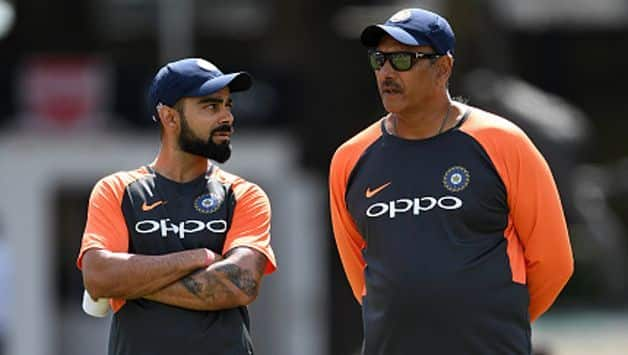 India head coach Ravi Shastri faced a lot of criticism for his comments, most noteworthy coming from former India captains Sunil Gavaskar and Sourav Ganguly. @ AFP