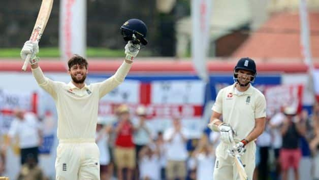 Ben Foakes gets a century on debut for England