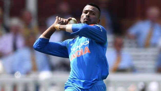 Trying to recover in time for ODIs against Australia: Hardik Pandya