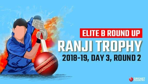 Ranji Trophy Elite Round B