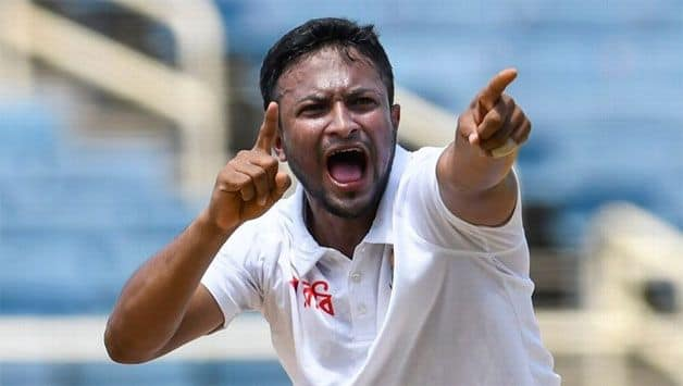 Fit-again Shakib Al Hasan named in Bangladesh squad for first West Indies Test