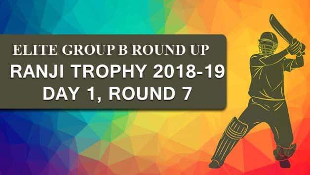 Ranji Trophy 2018-19, Elite Group B: Rawat ton puts Delhi on top against Madhya Pradesh