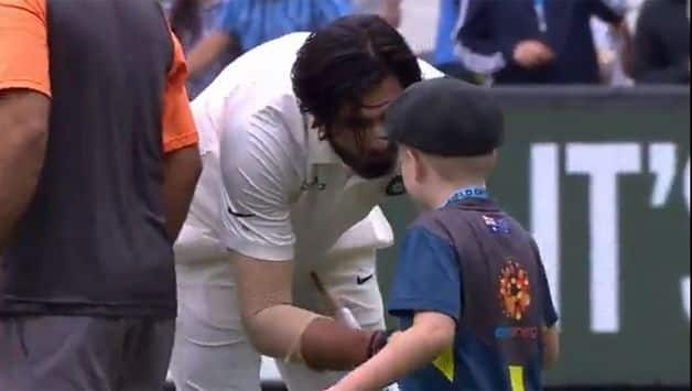 India vs Australia: Tim Paine's co-captain Archie Schiller comes for customary handshakes after Melbourne Test