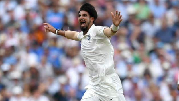 Ishant Sharma removes the skipper Tim Paine to claim his 50th Test wicket against Australia