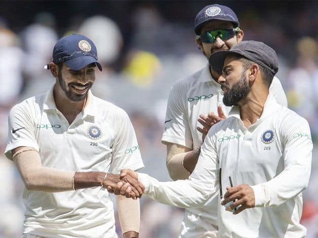 Jasprit Bumrah ended with a career-best 6/33 collecting his third five-wicket Test haul having also achieved the feat against South Africa and England. @ Twitter