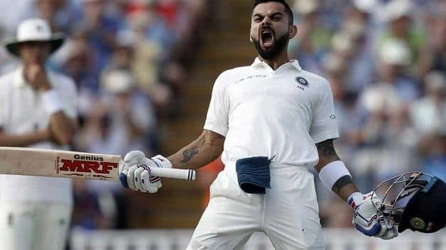 Virat Kohli dropped three points despite a first innings score of 82 in the third Test in Melbourne, but still enjoys a 34-point lead over Kane Williamson. @ AFP