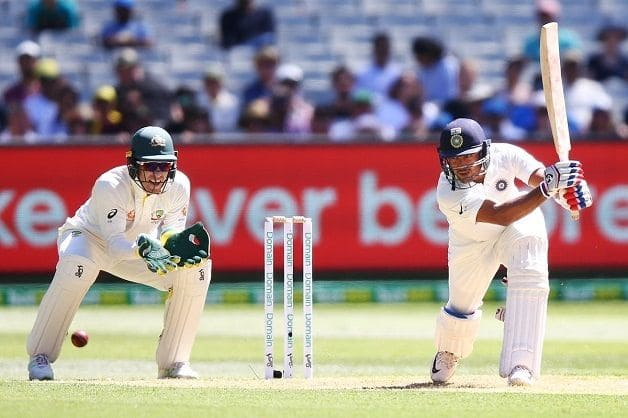 Mayank stroked 76 – the highest score by an Indian on debut in Australia. @ Twitter/ICC