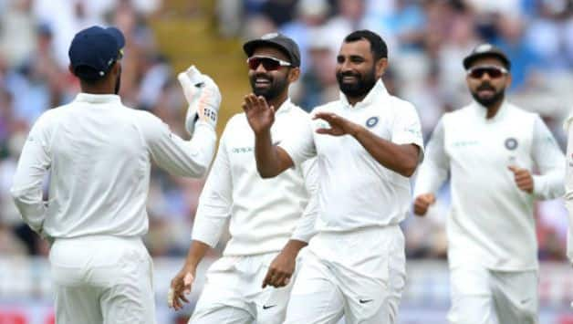 india vs australia: Mohammed Shami becomes 10th Indian to take 100 away wickets