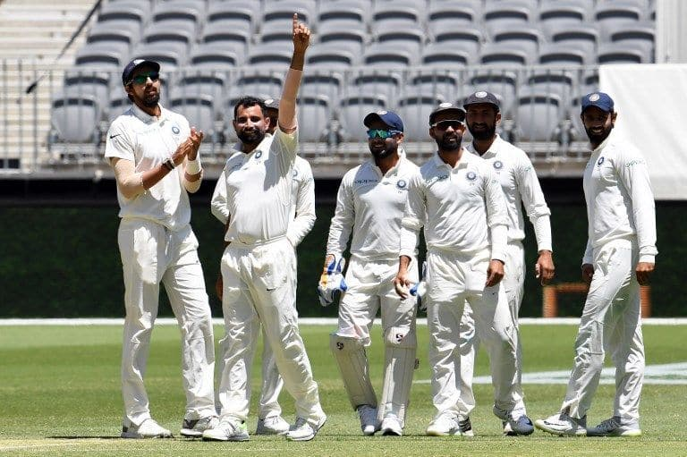 Mohammed Shami picked up is best Test figures on day four in Per