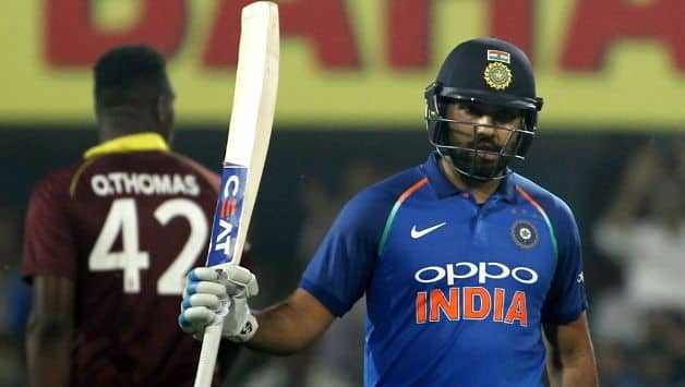 Rohit Sharma against west indies