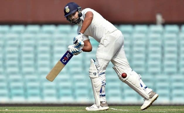 Rohit Sharma was left out of the Test set up following a dismal series with the bat in South Africa where he notched 78 runs in four innings at 19.50 before earning a recall for the Australia series. @ AFP