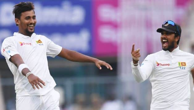 Sri Lanka captain Dinesh Chandimal could also be tempted to field all three of their young quicks, but might go for the safe option and opt for the experienced Suranga Lakmal, who brings in that stability. @ AFP