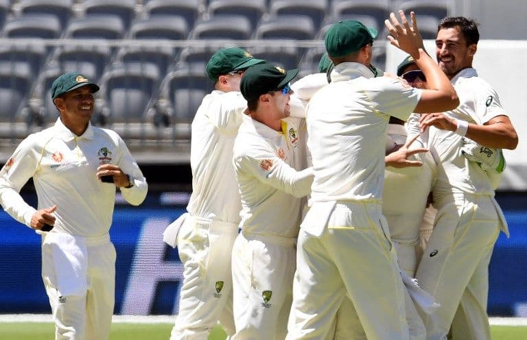 2nd Test: Australia crush India by 146 runs in Perth to level series 1-1