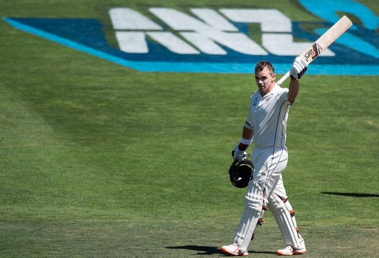 1st Test: Tom Latham double-hundred takes New Zealand to 509/6 at tea