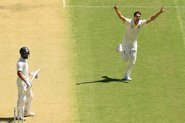 1st Test: Pat Cummins gets Virat Kohli for second time in four balls