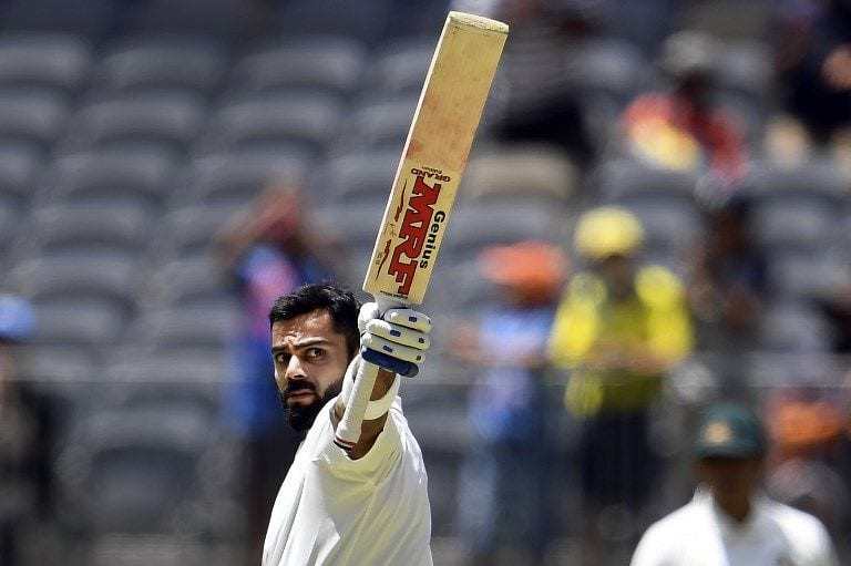Sublime Virat Kohli strikes the perfect blend with Perth 123