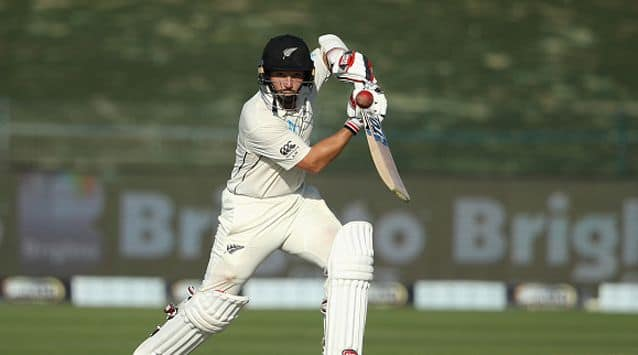 Williamson missed out on a 19th Test century but Watling was unbeaten on 42