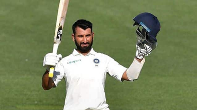 Cheteshwar Pujara scored a gritty 123 in punishing conditions to claw India back into the opening Test in Adelaide