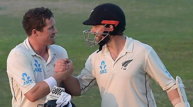 Record-breaking Yasir Shah had to share the day's honours with New Zealand skipper Kane Williamson on Thursday as the third and final Test heads towards a gripping final day in Abu Dhabi.