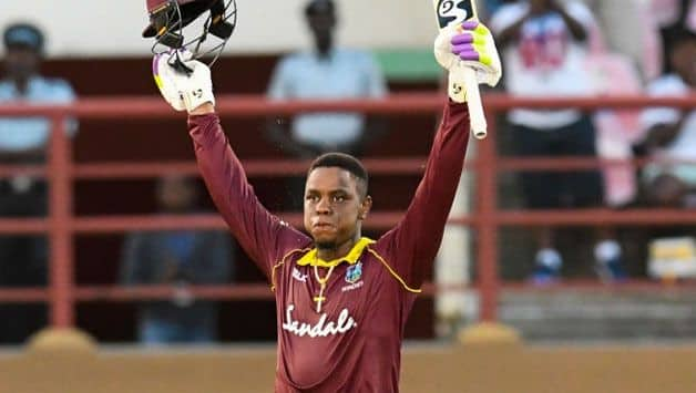 Shimron Hetmyer played some blinders against India and Bangladesh. (AFP Image)