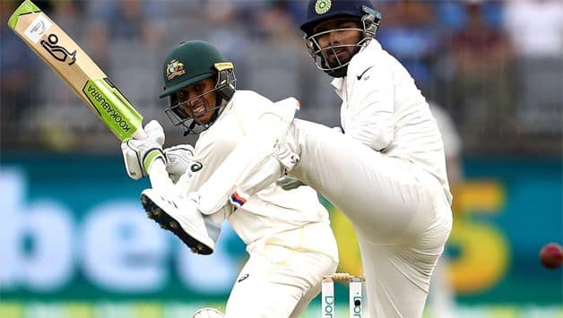 Khawaja and Paine have dug in taking Australia to 132/4, with a lead of 174 over India.