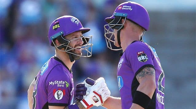 Hobart Hurricanes beat Melbourne Stars in BBL