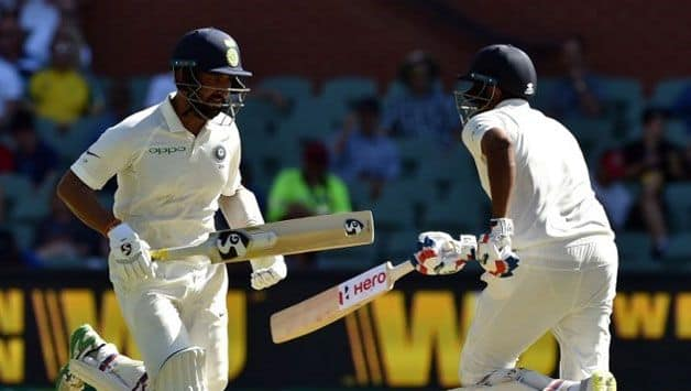 Cheteshwar Pujara and R Ashwin batted with assurance that was lacking in India's top order. (AFP Image)