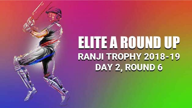 Ranji Trophy 2018-19, Elite Group A: Maharashtra 86 for 3 in reply to Saurashtra's 398