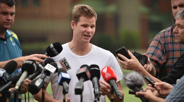 Speaking to the media for the first time since his tearful apology in March earlier this year, Smith spoke been hard watching Australia struggle from the sidelines and how he is preparing for his return.