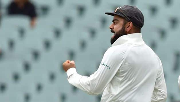 Langer conceded their behaviour was under scrutiny in Adelaide, where combative and vocal Indian skipper Virat Kohli has enthusiastically celebrated Australian wickets.