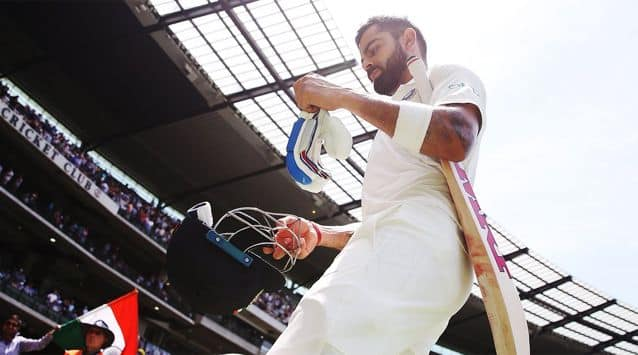 Indian skipper Virat Kohli broke a long-standing record of Rahul Dravid to become the Indian player with most runs in a calendar year in overseas Test.
