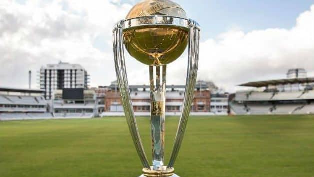 ICC World Cup 2019 Trophy reaches Delhi
