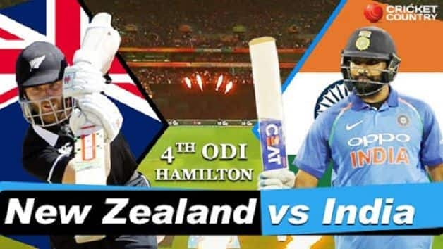 India vs New Zealand 2019, 4th ODI, live cricket score, Seddon Park, Hamilton: Trent Boult's 5/21 hands New Zealand dominant win