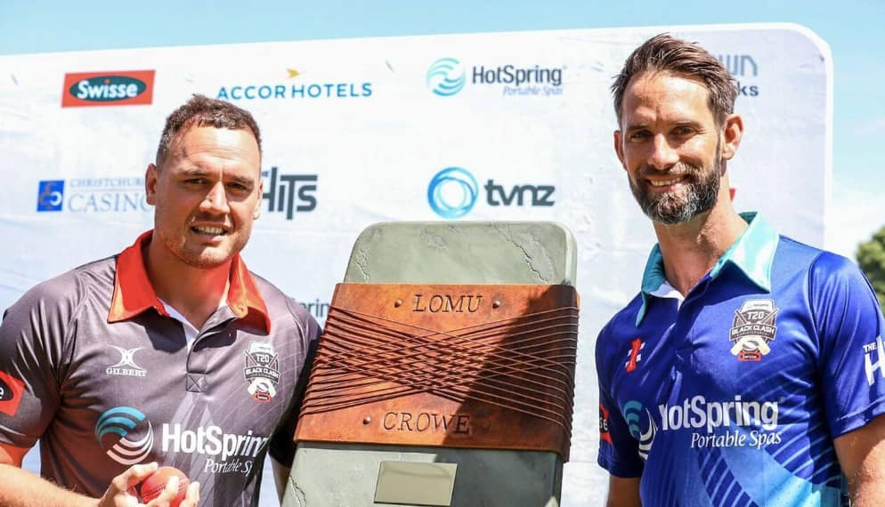 Black Caps to meet All Blacks in T20 clash for Lomu-Crowe Trophy