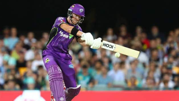 Big Bash League 2018-19: D'Arcy Short hits half century as Hobart Hurricanes wins over Sydney Sixers