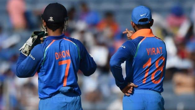 Sourav Ganguly praises Virat Kohli for standing by under fire MS Dhoni's side for past year