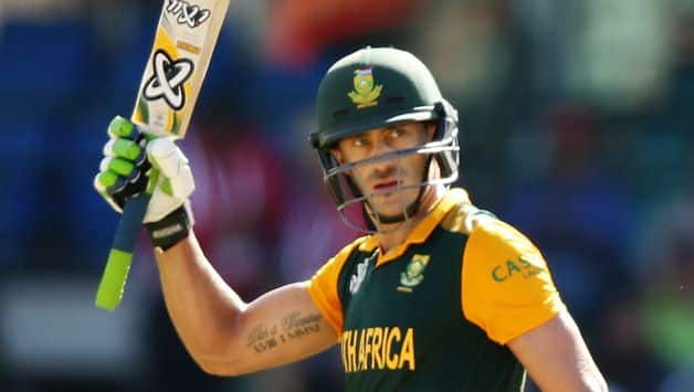 Faf Du Plessis: Extremely happy that our best performance came in a crunch game