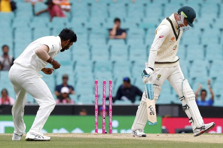 4th Test: Virat Kohli enforces follow-on after Australia dismissed for 300 on rainy day