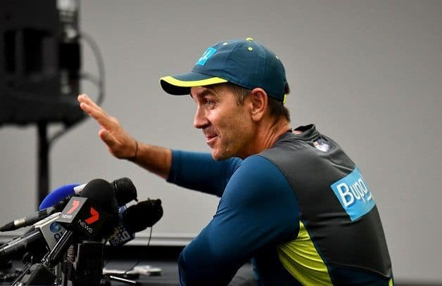 VIDEO: Justin Langer turned grumpy over journalist when asked about Glenn Maxwell's omission from Test