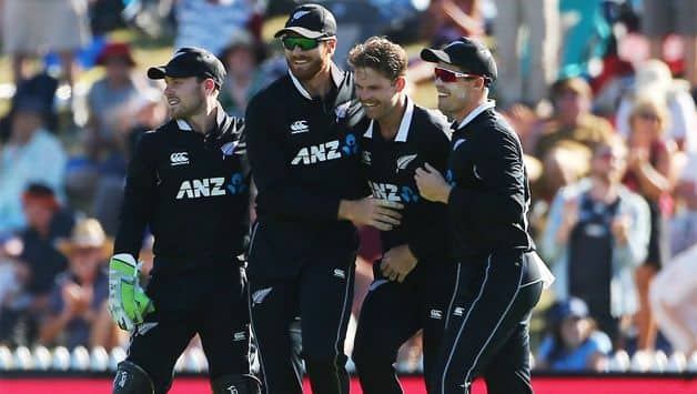 New Zealand defeated Sri Lanka by 115 runs to complete a series whitewash in the third one-day international in Nelson on Tuesday.