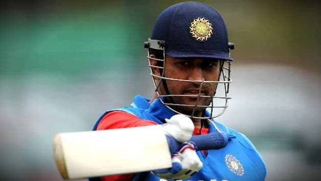 MS Dhoni scoring three consecutive fifty-plus scores in an ODI series